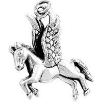 SIGO Anhänger, Pferd mit Flügeln, Silber 925