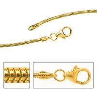 SIGO Schlangenkette 333 Gelbgold 1,4 mm 45 cm Gold Kette Halskette Goldkette