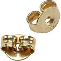 SIGO Pousetten 585 Gold Gelbgold Goldpousetten Verschluss für Ohrstecker