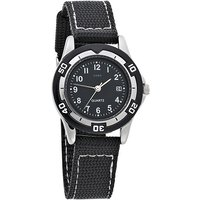 JOBO Kinder Armbanduhr schwarz Quarz Analog Messing Mineralglas Kinderuhr - Angebote