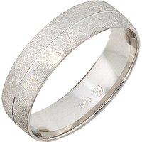 SIGO Partner Ring 925 Sterling Silber rhodiniert eismatt Silberring