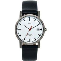 JOBO Damen Armbanduhr Quarz Analog Titan Leder Datum Damenuhr - Angebote