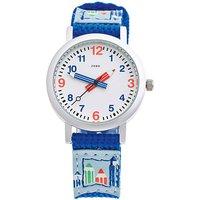 JOBO Kinder Armbanduhr helllbau blau Quarz Analog Aluminium Kinderuhr - Angebote
