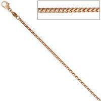 SIGO Bingokette 585 Rotgold 1,5 mm 45 cm Gold Kette Halskette Rotgoldkette Karabiner
