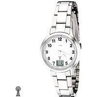 JOBO Damen Armbanduhr Edelstahl Datum Mineralglas Damenuhr - Angebote