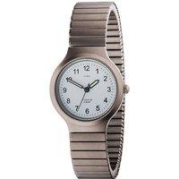 JOBO Damen Armbanduhr Quarz Analog Titan Flexband Damenuhr - Angebote