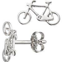 SIGO Kinder Ohrstecker Fahrrad Bike 925 Sterling Silber Ohrringe Kinderohrringe