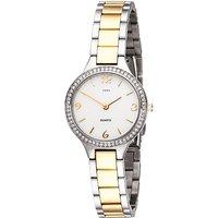 JOBO Damen Armbanduhr Quarz Analog Edelstahl mit SWAROVSKI® ELEMENTS Damenuhr - Angebote