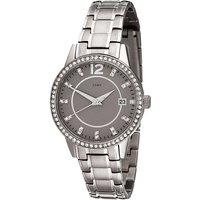 JOBO Damen Armbanduhr Quarz Analog Titan mit SWAROVSKI® ELEMENTS Damenuhr Datum - Angebote