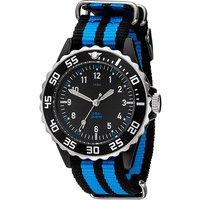 JOBO Kinder Armbanduhr Quarz Analog schwarz blau Kinderuhr - Angebote