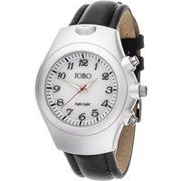 JOBO Herren Armbanduhr Quarz Analog Edelstahl Aluminium Leder Herrenuhr - Angebote