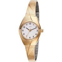 JOBO Damen Armbanduhr Quarz Analog vergoldet Damenuhr - Angebote