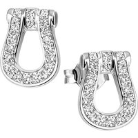 SIGO Ohrstecker 925 Sterling Silber 38 Zirkonia Ohrringe Silberohrringe - Angebote