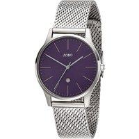 JOBO Damen Armbanduhr Quarz Analog Edelstahl Datum Damenuhr - Angebote