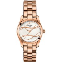 TISSOT Armbanduhr Damen T-WAVE II DIAMOND ROSE PVD