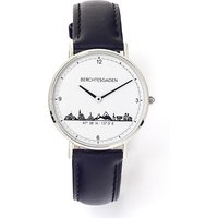 Goettgen Armbanduhr Berchtesgaden Damen Lederband schwarz - Angebote