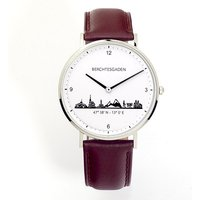 Goettgen Armbanduhr Berchtesgaden Herren Lederband braun - Angebote