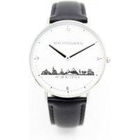 Goettgen Armbanduhr Berchtesgaden Herren Lederband schwarz - Angebote