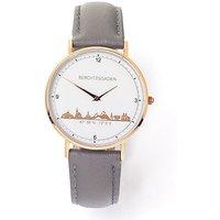 Goettgen Armbanduhr Berchtesgaden Damen Lederband taupe - Angebote