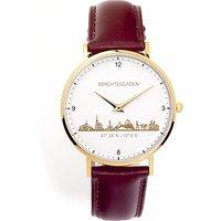 Goettgen Armbanduhr Berchtesgaden Damen Lederband braun - Angebote