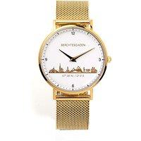 Goettgen Armbanduhr Berchtesgaden Damen Milanaiseband gelb - Angebote