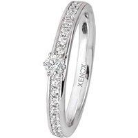 XENOX Ring 925 Silber Zirkonia