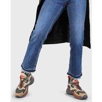 Cai Sneaker aus Kunstleder khaki/beige