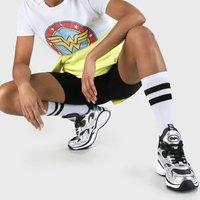 Cai Sneaker in Wildleder-Optik silber