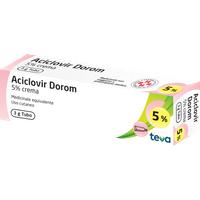 ACICLOVIR DOROM*CREMA 3G 5%
