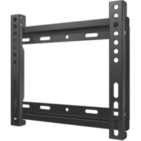 SECURA Small Fixed TV Wall Bracket - Max 39 Inch, Black