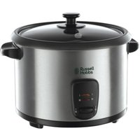 Russell Hobbs 19750 1.8L Rice Cooker - Stainless Steel, Silver