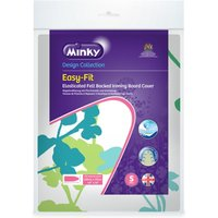 Minky Easy Fit Ironing Board Cover, Multi