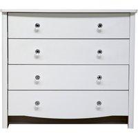 princess 4 drawer diamante chest of drawers