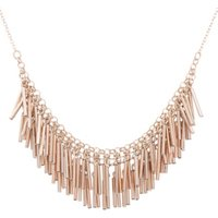 George Gold-Tone Cluster Collar Necklace