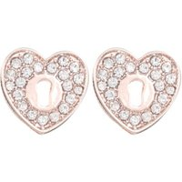 George Tickled Pink Diamant © Heart Stud Earrings