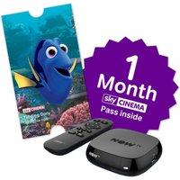 NOW TV Box & 1 Month Cinema Pass & Sky Store Voucher