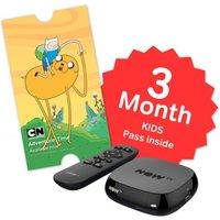 NOW TV Box & 3 Month Kids Pass & Sky Store Voucher