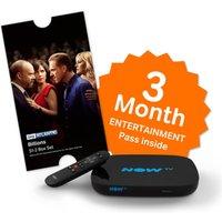 NOW TV Smart Box & 3 Month Entertainment Pass & Sky Store Voucher