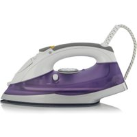 2200W Ceramic Soleplate Steam Iron, Purple