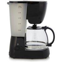 GCM101B 10 Cup Filter Coffee Machine, Black