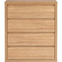 leighton chest of 4 drawers in natural