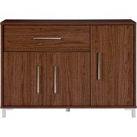 kaitlin 3 door sideboard  brown