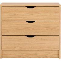 rupert chest of 3 drawers  natural