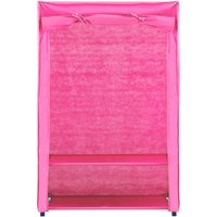 kids fabric wardrobe  pink