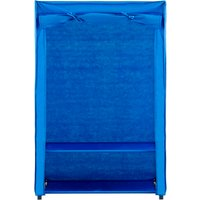 kids fabric wardrobe  blue