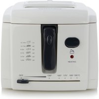 2L Deep Fat Fryer - White, White