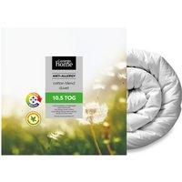 Antiallergy Cotton Blend Duvet  10.5 Tog, White