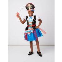 George Pirate Fancy Dress Costume - Blue