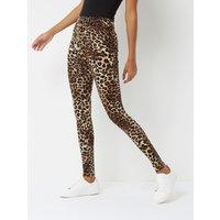 George Leopard Print Leggings - Multi