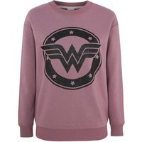 George Wonder Woman Purple Sweatshirt - Plum